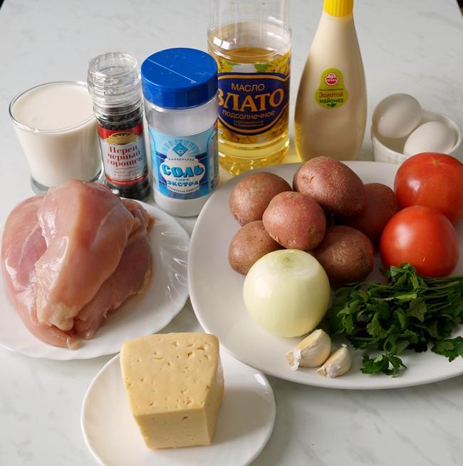 """Рецепт, достойный восхищения: """"Сюрприз"""" из куриного филе"""