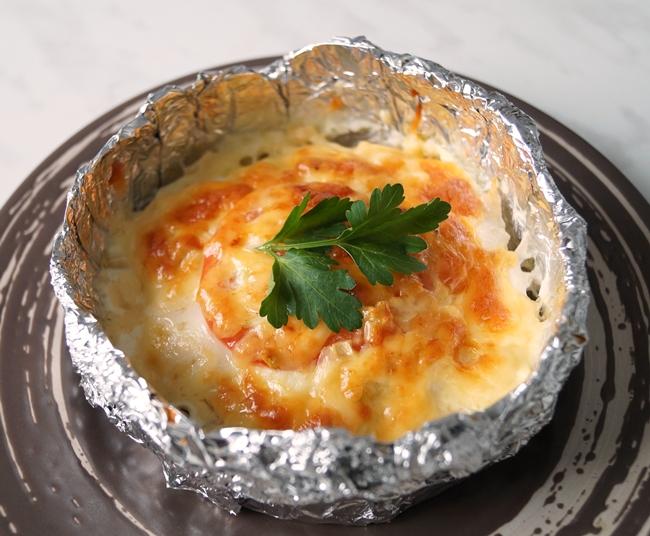 Филе куриное с картошкой под сыром с фото